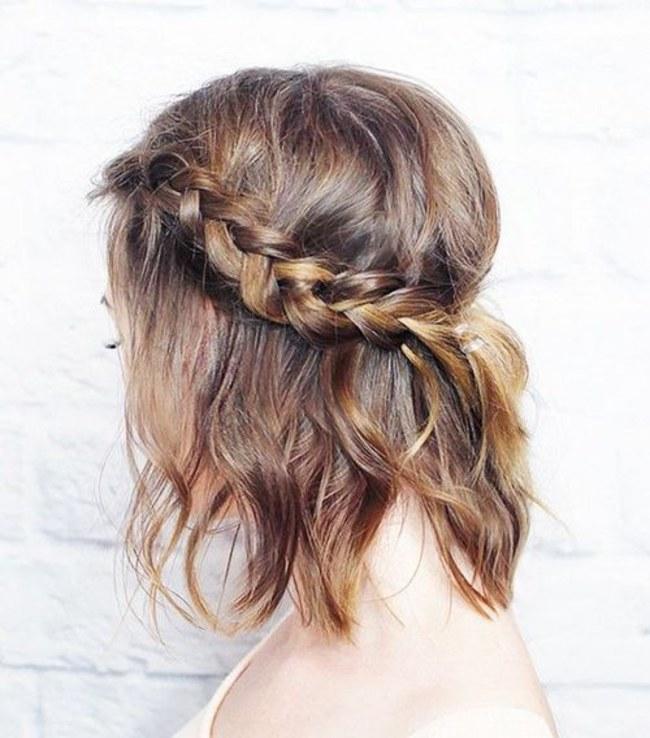 Красивые легкие прически на средние волосы - интересные идеи и способы