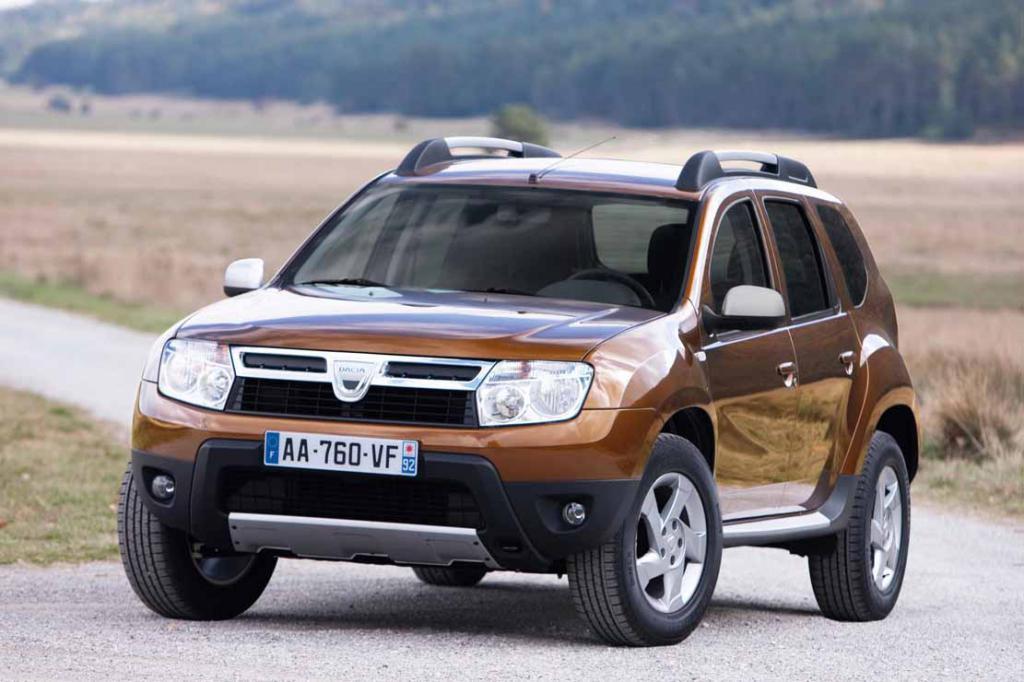 Renault Duster, внешний вид