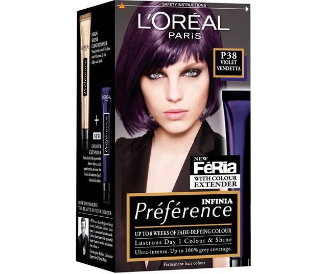 Краска для волос бренда L