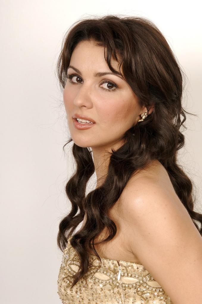 Singer Anna Netrebko