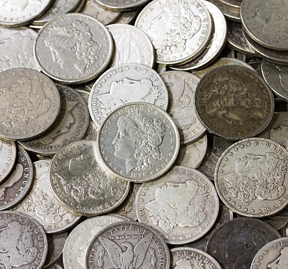 """Монета """"Доллар Моргана"""". 1 $, который спустя век превратился в 100 $"""