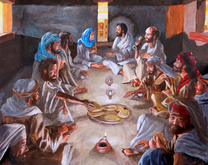 Last Supper for Easter