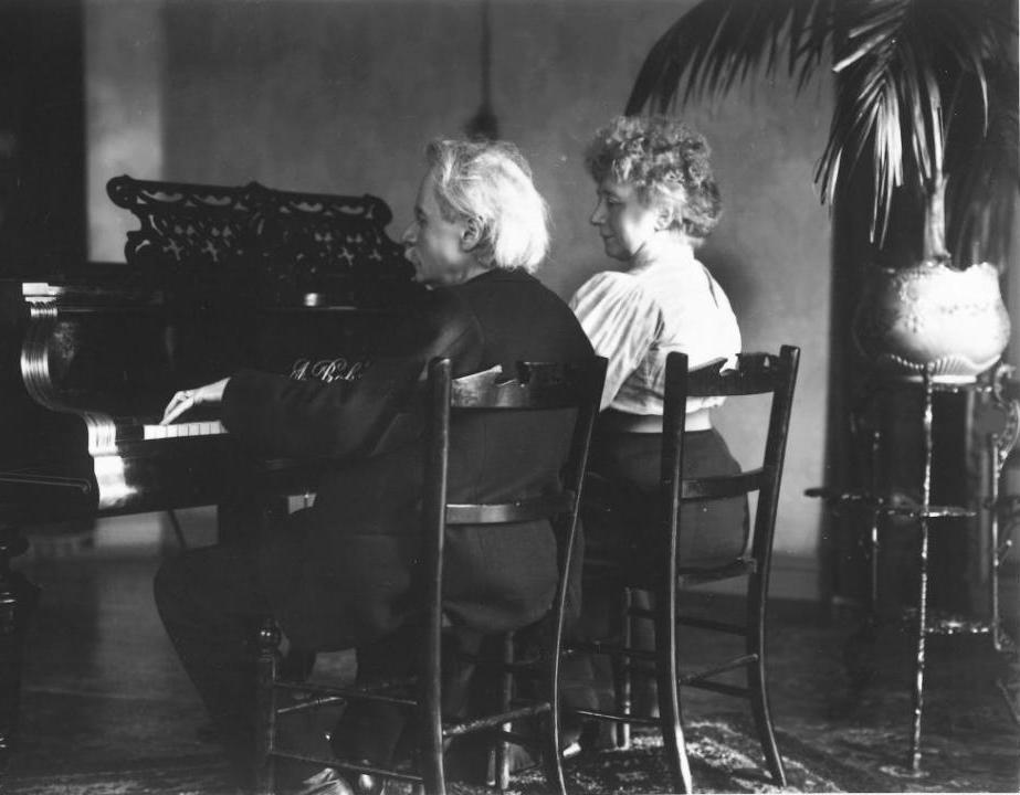 Edward Grieg and Nina Hagerup
