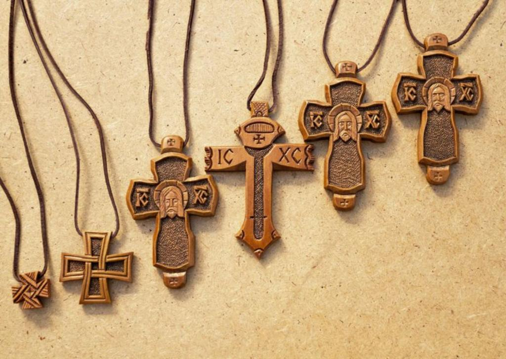 Pectoral crosses from a tree