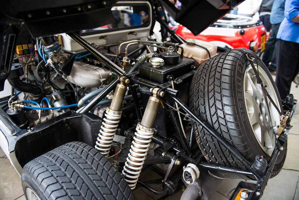 Ford RS200 engine