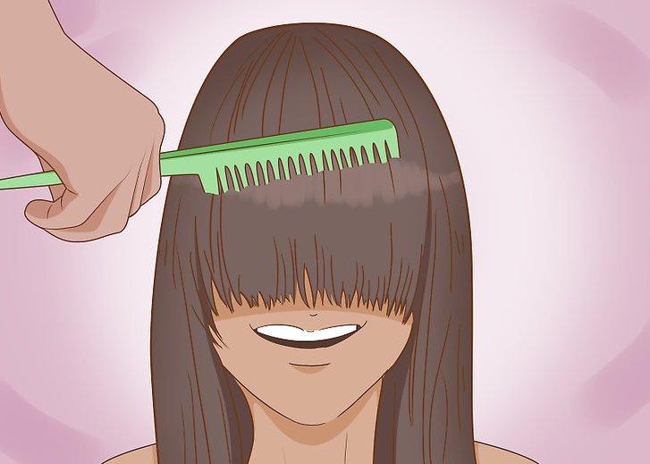 Как подстричь длинную челку самостоятельно? Идеи и свежие фотографии!