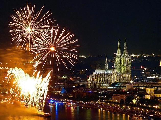 """Show """"Rhine in the Lights"""""""