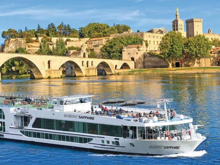 River ship on the Danube