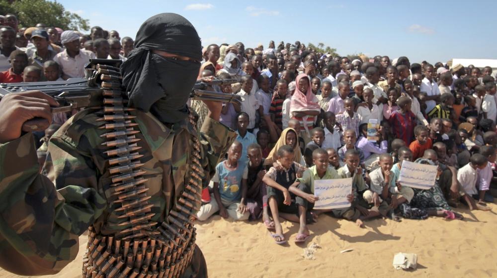 Повстанец в Сомали