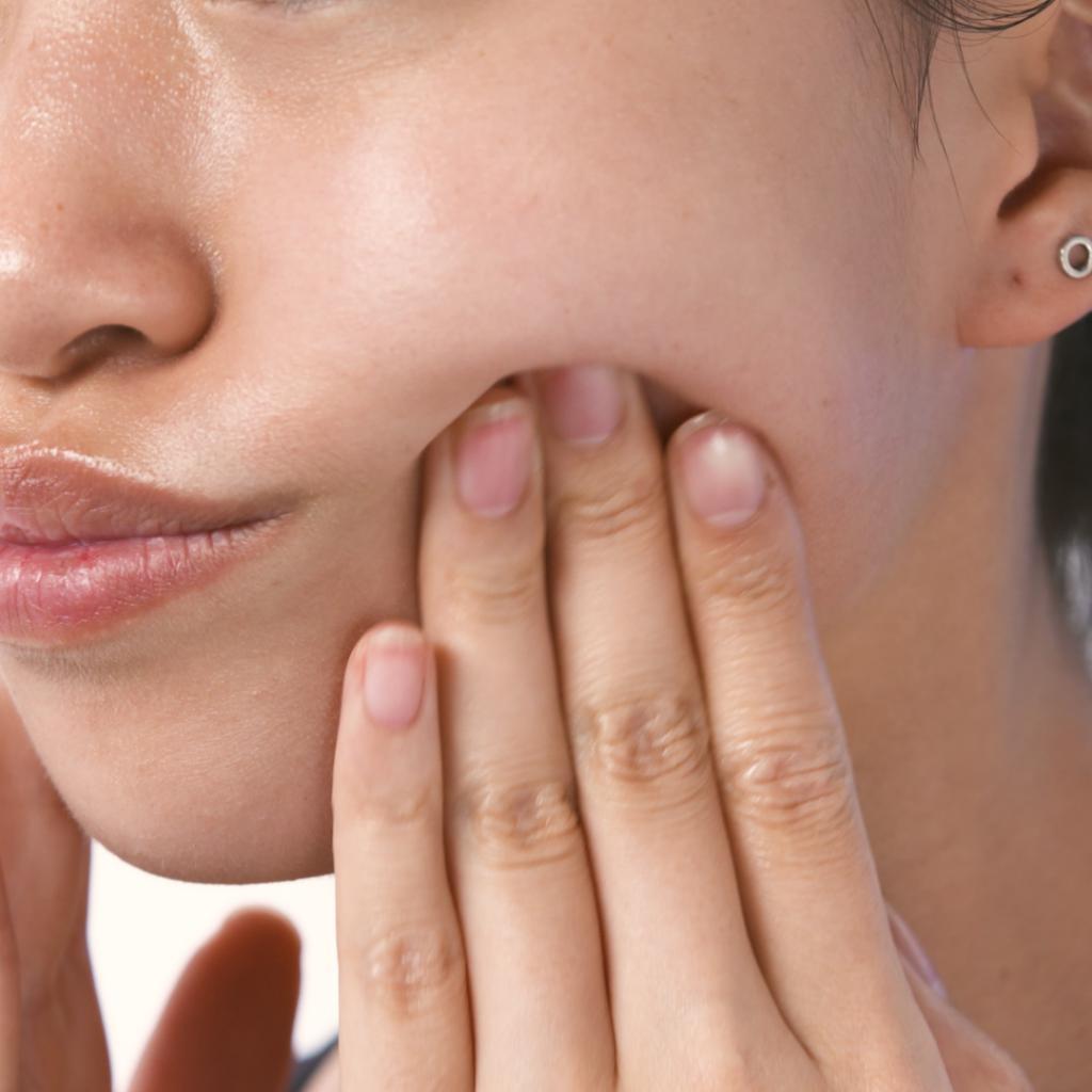 пальпация щеки