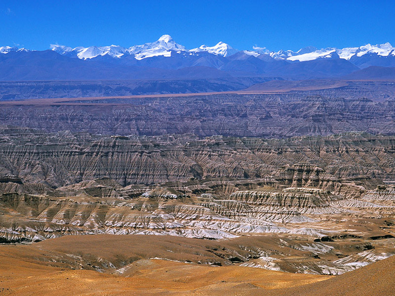 sights of tibet with explanation in photos