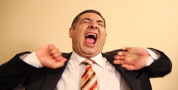 потягивание при зевании