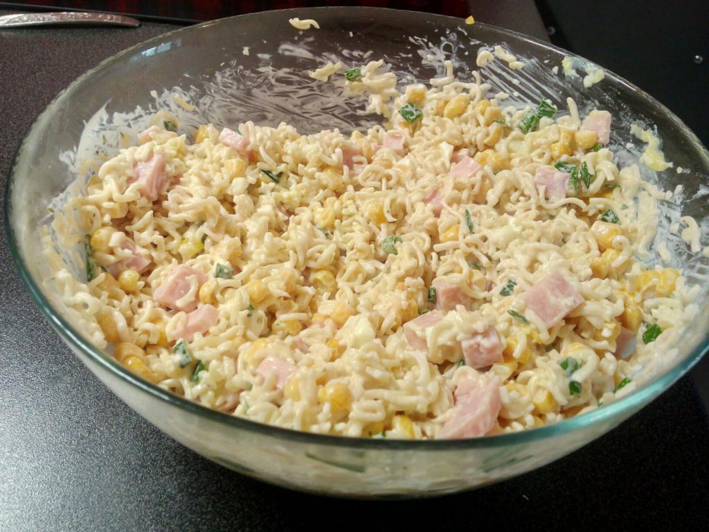doshirak noodle salad