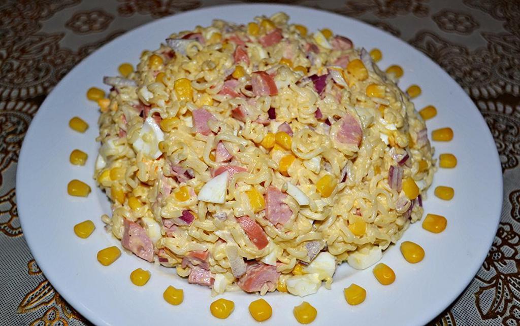 crab salad with doshirak