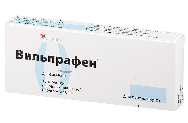 Дозировка на вильпрафен для простатита выделения от простатита