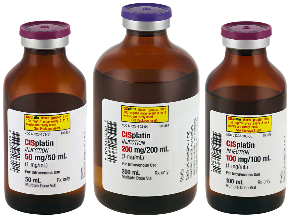 Противоопухолевое средство, содержит платину.