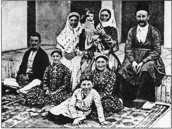 Пример патриархальной семьи