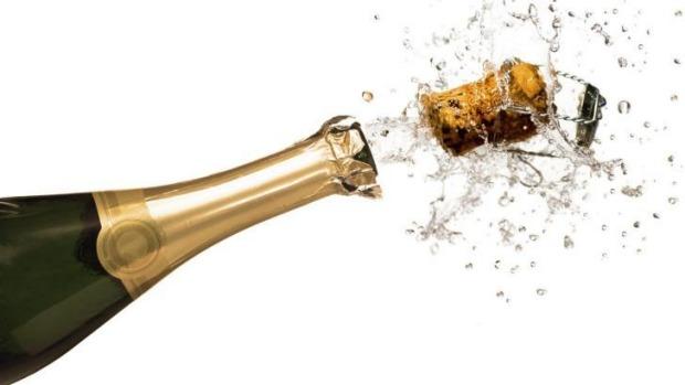 пробка в шампанском