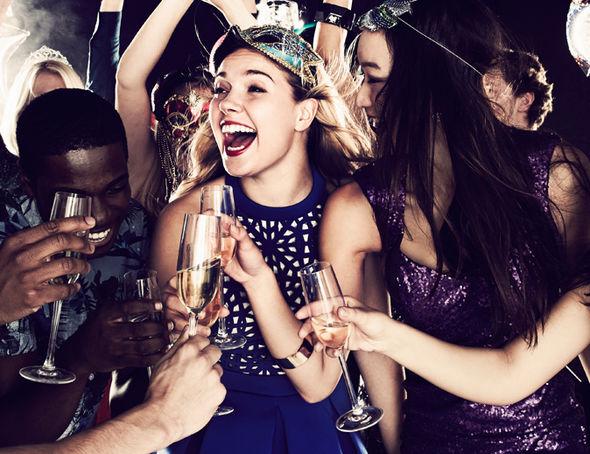 вечеринка с шампанским