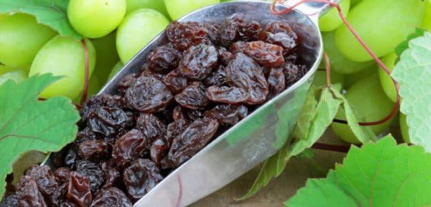 виноград и изюм