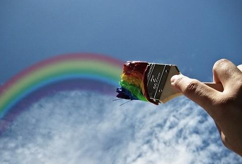 как нарисовать пони радуга