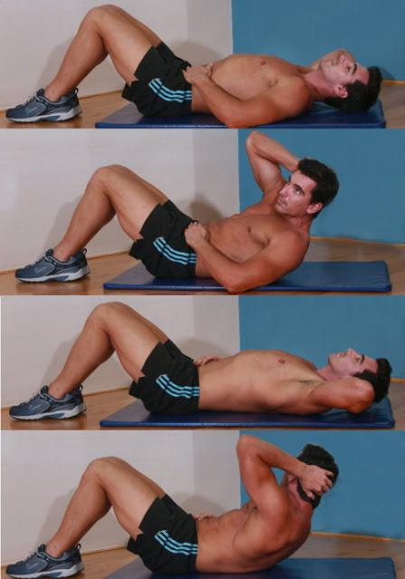 Как качать косые мышцы пресса с гантелями