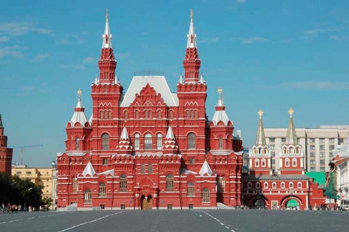 Расположенное на красной площади