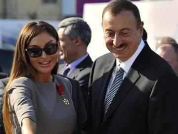 Жена Алиева Мехрибан