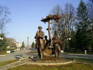 скульптура древо жизни