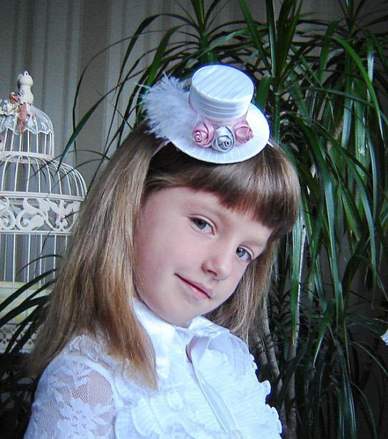 как сделать мини-шляпку под ободок своими руками