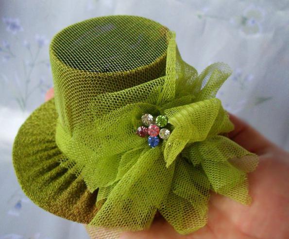 шляпки для девочек своими руками