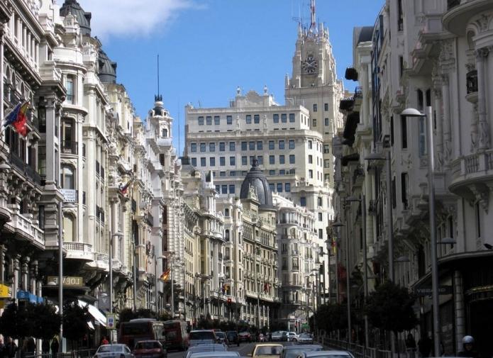 столица испании