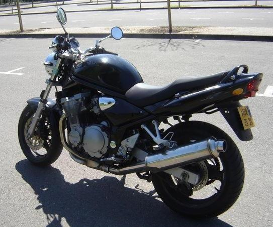 мотоцикл сузуки-бандит