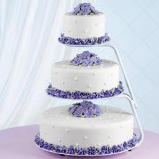 Торты на свадьбу на подставках фото