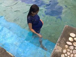 Фитнес для беременных бассейн
