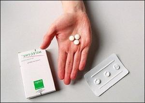 таблетированный аборт