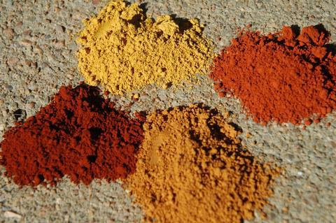 палитра красок оллин