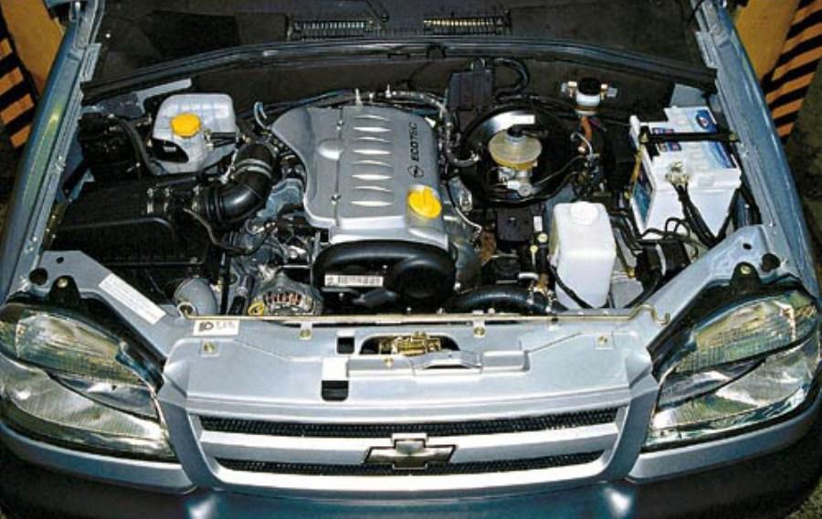 Chevrolet Niva engine