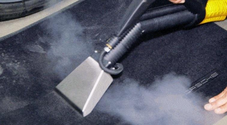 чистка ковриков в салоне