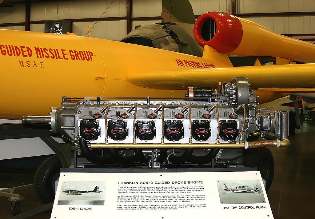 мотор на самолете