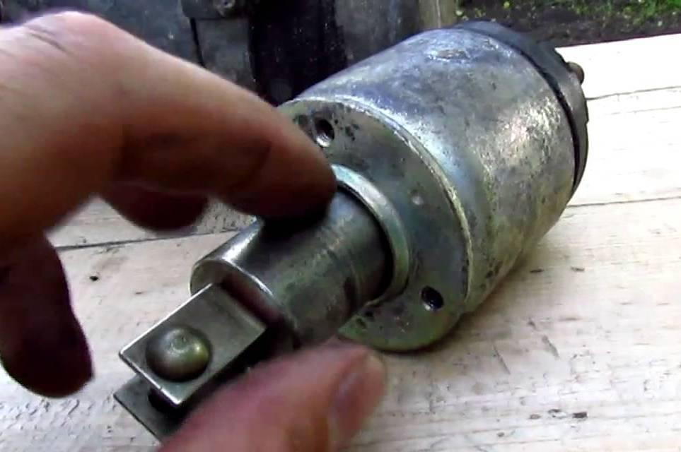 ремонт втягивающего устройства