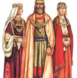древняя русь одежда