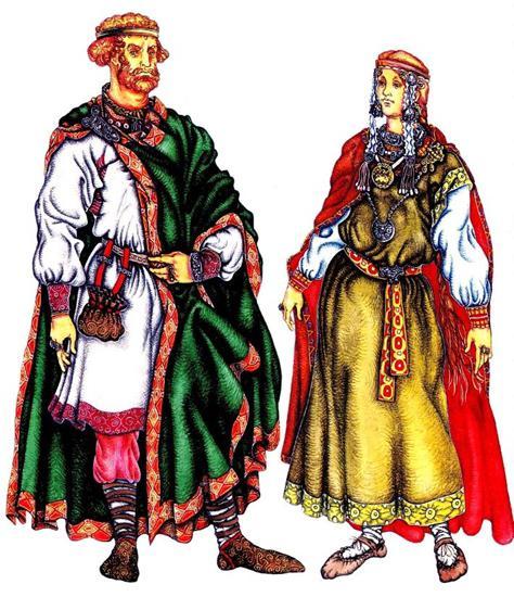 Русская женская одежда