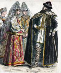 мужская одежда на руси