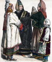 одежда 17 века в россии