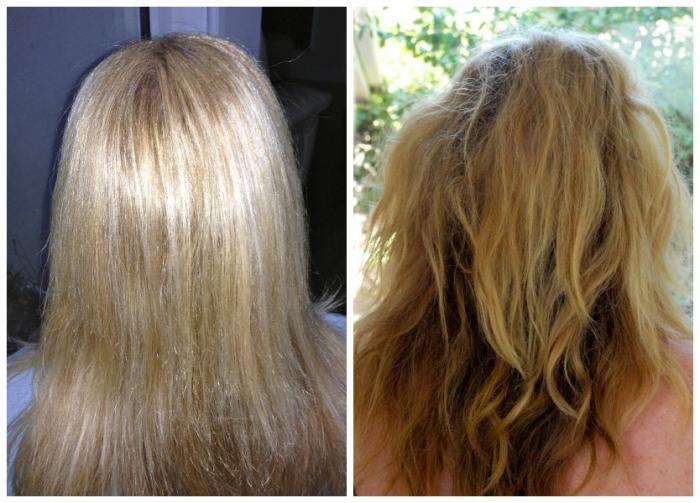смыть волосы кефиром фото до после кухня уже успела