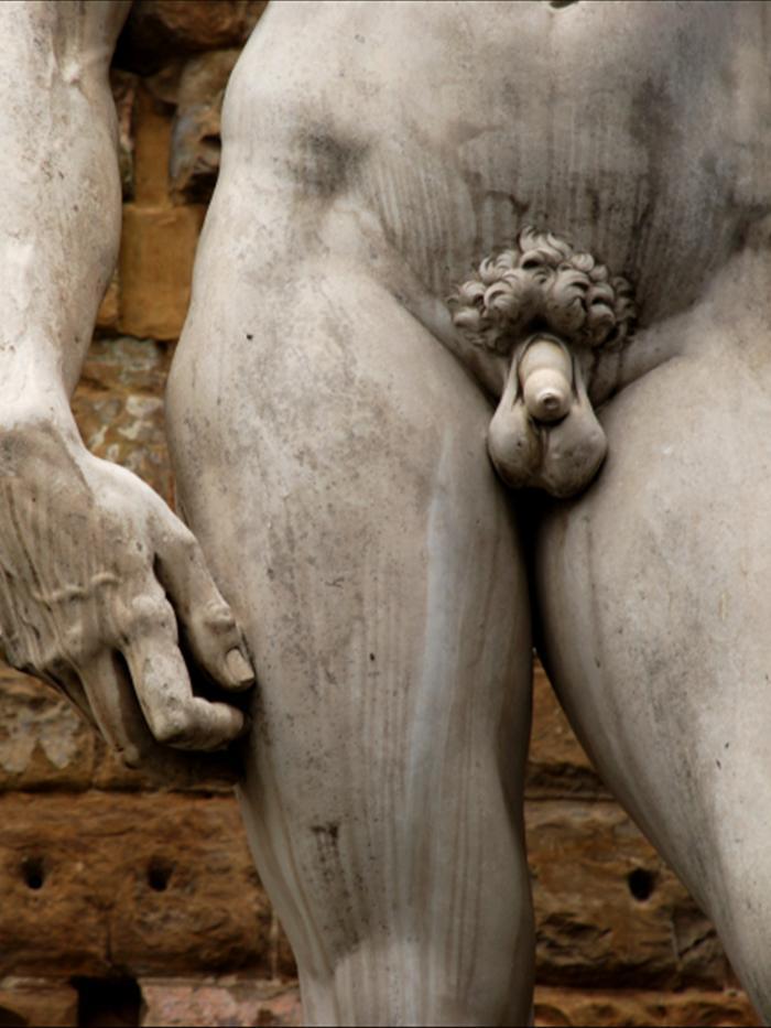 Penis statues