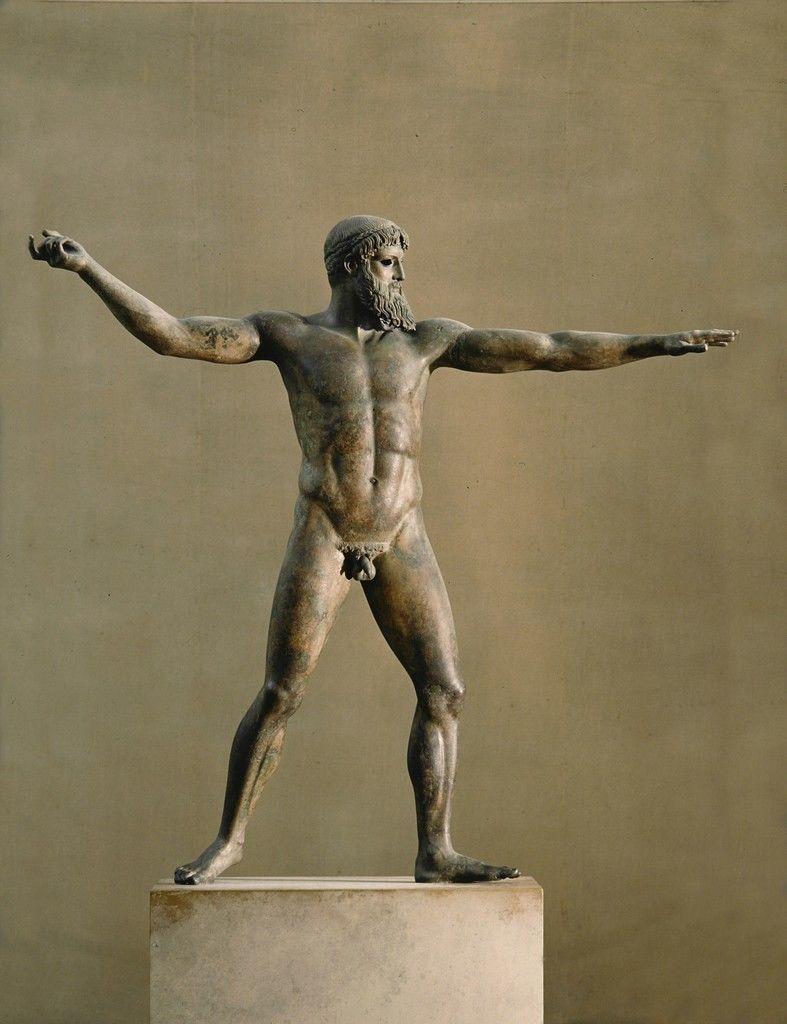 Antique greek sculpture