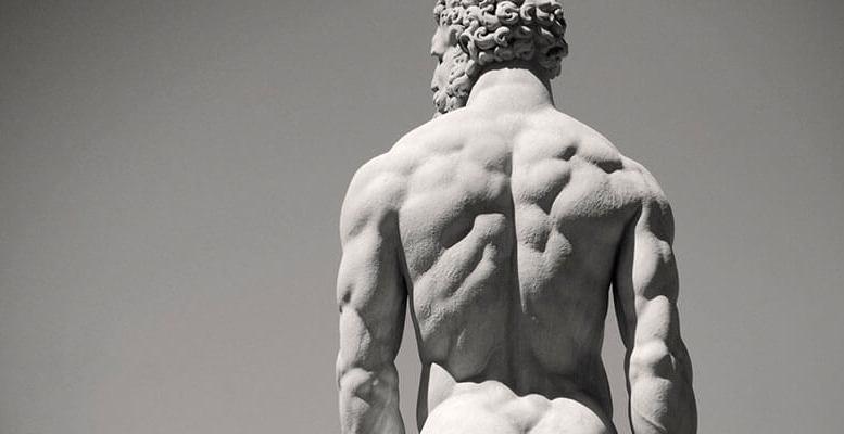 Hercules statue