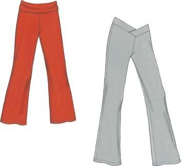 Как сделать выкройку брюк